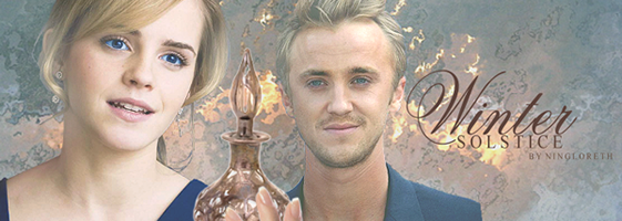 hermione, perfume and draco